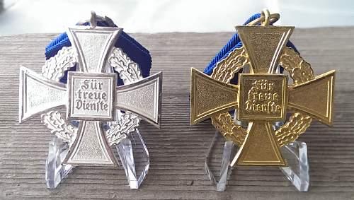 Treue Dienst Ehrenzeichen 40 + 25 year