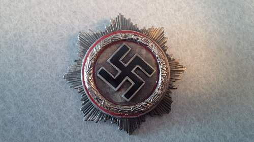 seeking authentication on close combat and german cross