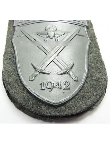 Demjansk Shield, opinions needed