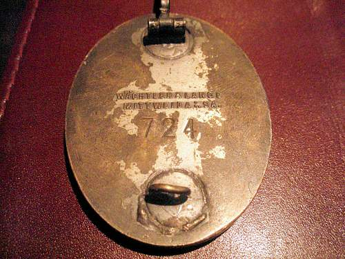 East Prussia Gau Badge