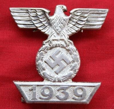 Spange zum Eisernen Kreuz 2 klasse 1939