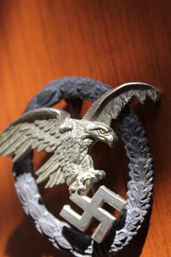 Luftwaffe Beobachterabzeichen GWL