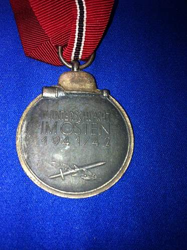 Ostmedaille ...real or fake?
