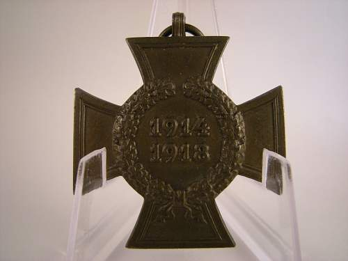Click image for larger version.  Name:Honour cross non combatants Carl wild.jpg Views:10 Size:344.6 KB ID:789722