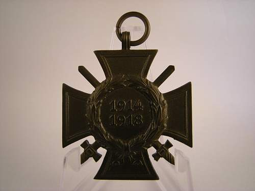 Click image for larger version.  Name:Honour cross for combatants G19.jpg Views:7 Size:362.7 KB ID:789724