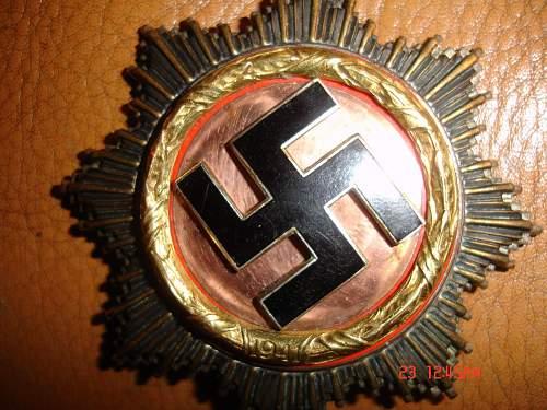 Deutsches kreuz in gold fake?