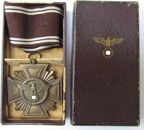 Dienstauszeichnung der NSDAP 10 Jahre