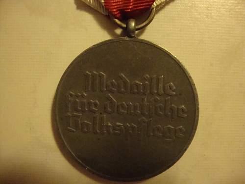 Medal for German Welfare