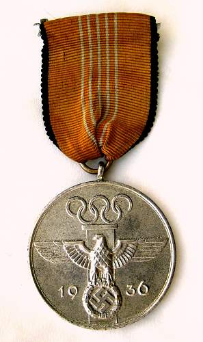 Olympic Commemorative Medal for review