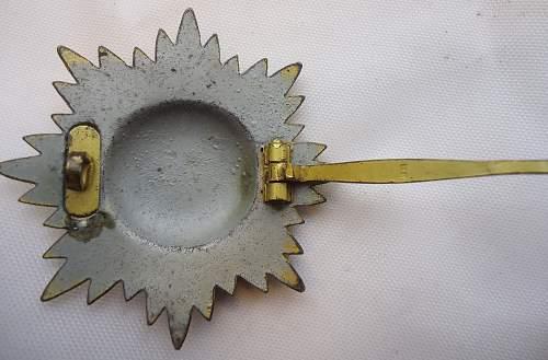 Ostvolk 1st Class Gold No Swords Award