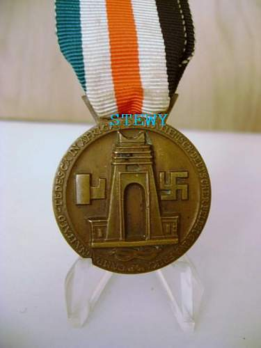 Is this Africa campaign medal authentic?