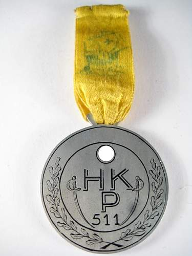 Unknown Third Reich Era - Award, Medal, Plaque