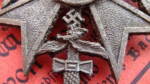 Spanienkreuz (ground dug), real?