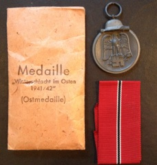 Ost front medal makers marked 4