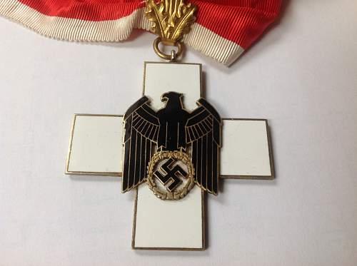 Social Welfare Cross Neck Order 1st Class