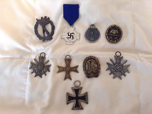 Huge lot of german WW2 medals.