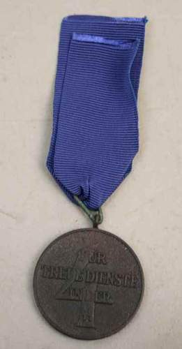 SS 4 year long service medal,,,good or bad?