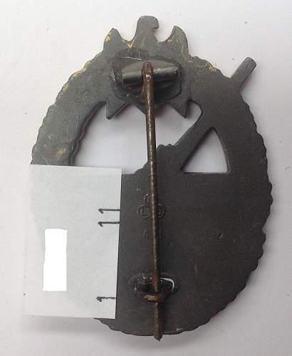 Kriegsabzeichen fur die Marine-Artillerie: another does it get better thread