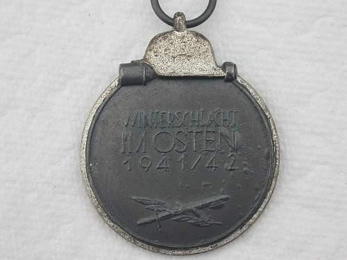 """Medaille """"Winterschlacht im Osten 1941/42"""" (Ostmedaille)"""