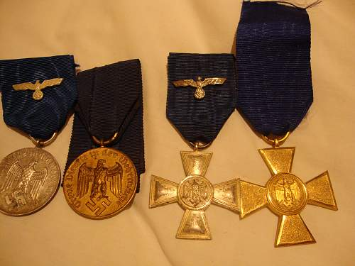 My Army LS awards