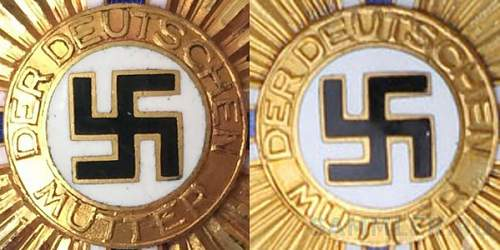 deutschen mutter in gold