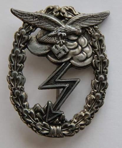 Erdkampfabzeichen der Luftwaffe OSANG