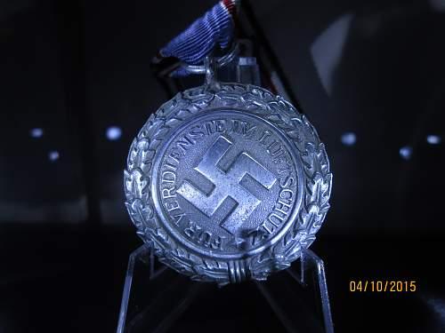 Luftschutz Medal 2 Class