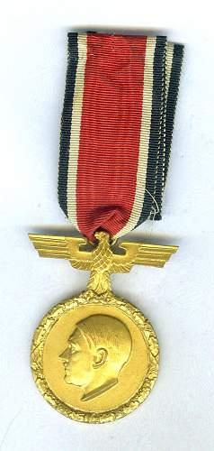 Adolf Hitler Prize Medal?