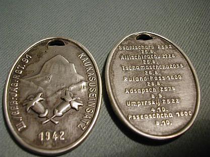 Gebirgesjäger Badge - Period or not ?