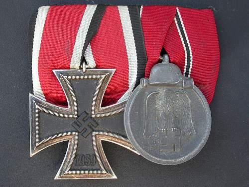 Medal bar