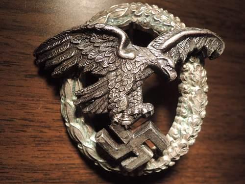 Beobachterabzeichen der Luftwaffe by JMME - ask for help