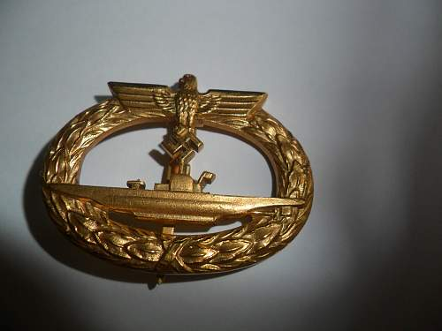 U-boot Kriegsabzeichen Real or Fake ?