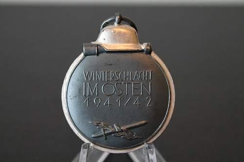 Winterschlacht im Osten - real one or fake (beginner in collecting)