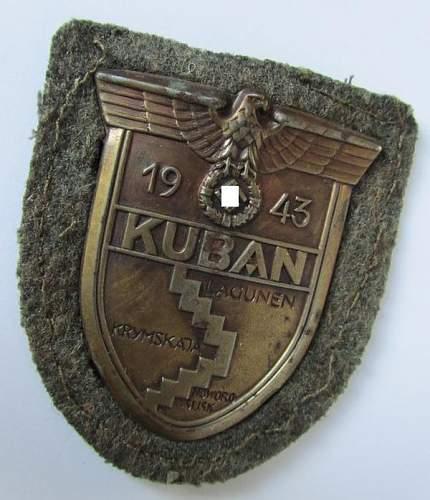 Kuban Campaign Shield, Opinions please?