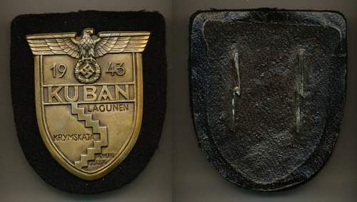 Kuban Campaign Shield, Opinions please?