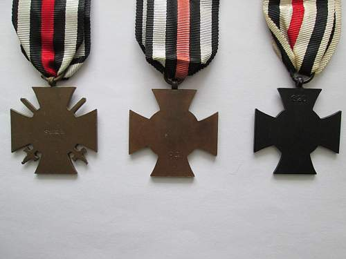 Ehren Kreutz (cross of Honour)
