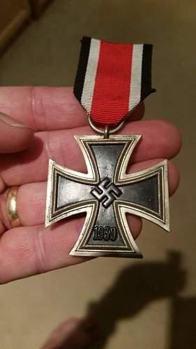 Eisernes Kreuz 2. klasse - Maker?? Deutsches Afrikakorps, DAK??