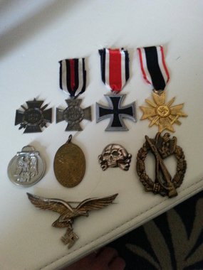 NEED HELP! Are any of these medals/crosses original?