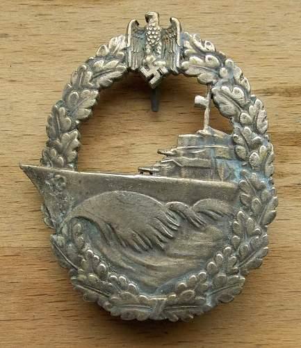 Couple Kriegsmarine badges.Is it worth attention?