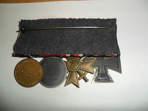 Spange zur Medaille zur Erinnerung an den 1. Oktober 1938: Opinions