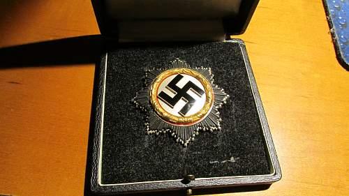 Deutsche Kreuz in gold for Review