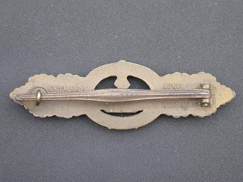 U - Boot Frontspange