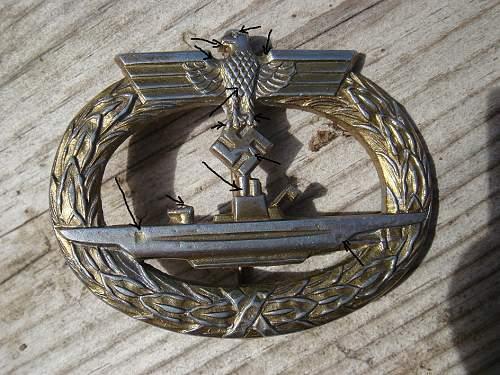 U-boot Kriegsabzeichen, orginal?