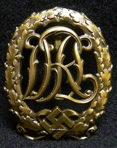 DRL Sportabzeichen in Bronze, Wernstein Jenna