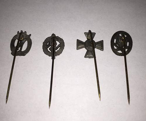 Stickpin Help Needed -