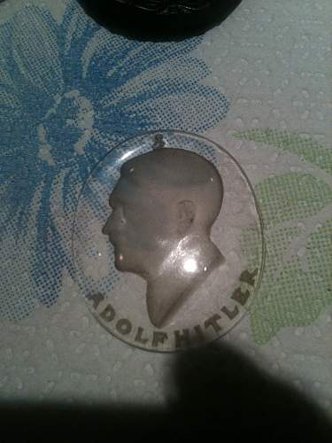 """What is this Adolph Hitler Glass """"Coin""""??"""