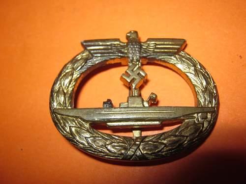 U-Bootkriegsabzeichen