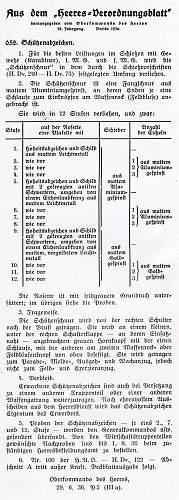 Heer Marksmanship Lanyard - 1st type