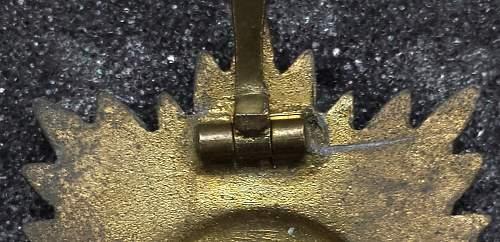Ostvolk...1st class Gold with swords.