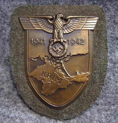 Krim Shield - Friedrich Orth